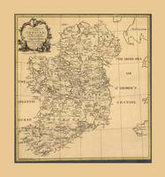 Map of Ireland (1795)