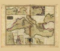 Chart of the Mediterranean Sea (1817)