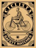 The Vintage Ciclista Safety Matches