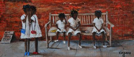 Growing up at the bus stop / Kip Hayes Art