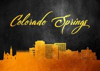 Colorado Springs Gold Skyline
