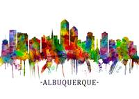 Albuquerque New Mexico Skyline