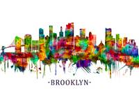 Brooklyn New York Skyline