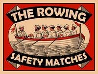 The Vintage Rowing Safety Match