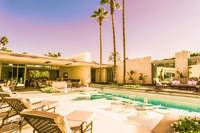 Opulent Luxe 1809 Mid-Century Modern Palm Springs