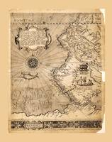 Map of Western South America (1569)