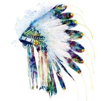 Indian Colorful Headdress