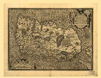 Map of Ireland by Abraham Ortelius (1598)