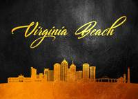 Virginia Beach Gold Skyline
