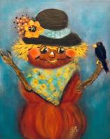 Pumpkin_Lady_with_Black_Crow_3