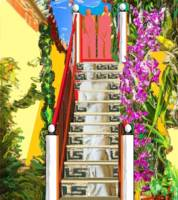 000 computer art patio escalera tropical