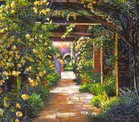 YELLOW ROSE ARBOR
