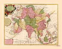 Map of Asia (1700)