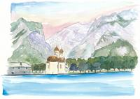 Saint Bartholomew Church Koenigsee with Watzmann M