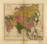 Map of Asia (1814)