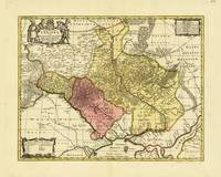Map of Ukraine (1705)