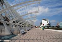 Umbracle and Palau de les Arts, Valencia