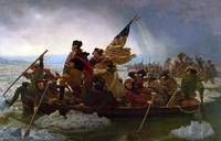 Washington Crossing the Delaware by Emanuel Leutze
