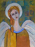 Angel of Love Modern Angel Painting