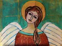 Guardian Angel Inspirational Spiritual Painting
