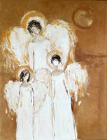 Angel Family Painting