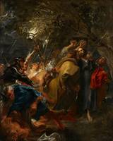 The Betrayal of Christ by Anthony van Dyck (c 1618