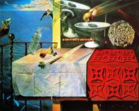 Salvador Dali Surreal Still life painting