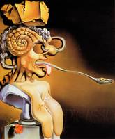 Salvador Dali Surrealist Portrait Famous Painters