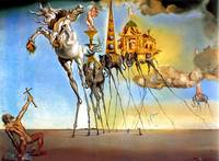 Salvador Dali Temptation of St. Anthony Surrealism
