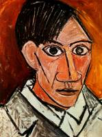 Pablo Picasso Selfportrait Surrealist Paintings