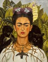 Frida Kahlo Self Portrait Thorn Necklace and Hummi