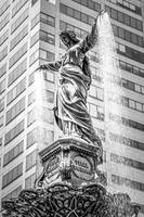 Cincinnati Tyler Davidson Fountain Black and White