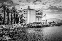 Avalon Casino Catalina Island in Black and White