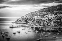 Catalina Island in Black and White