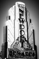 Newport Beach Edwards Theater Marquee