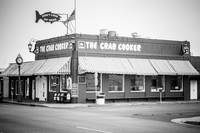 Crab Cooker Newport Beach in Black and White