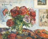 Still Life with Peonies by Paul Gauguin
