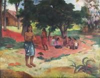 Whispered Words by Paul Gauguin