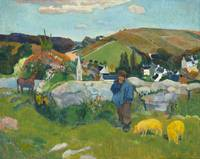 The Swineherd by Paul Gauguin