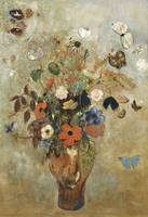 Still Life with Flowers by Odilon Redon