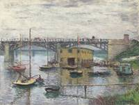 Bridge at Argenteuil on a Gray Day by Claude Monet