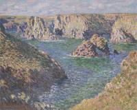 Port-Domois, Belle-Isle by Claude Monet