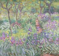 The Artists Garden in Giverny by Claude Monet