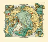 Map of the Arctic Ocean (1906)