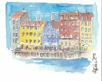 Copenhagen Waterfront Scenery I