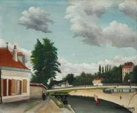 Outskirts of Paris by Henri Rousseau