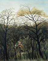 Rendezvous in the Forest by Henri Rousseau