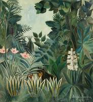 The Equatorial Jungle by Henri Rousseau