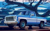 1980-Chevrolet Custom-C10-short-bed 350 V8