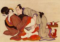 Japanese Print Erotic Painting shunga Painting